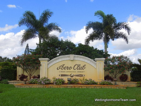 Aero Club Homes for Sale in Wellington Florida
