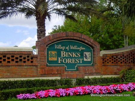 Binks Forest Wellington Florida Real Estate & Homes for Sale