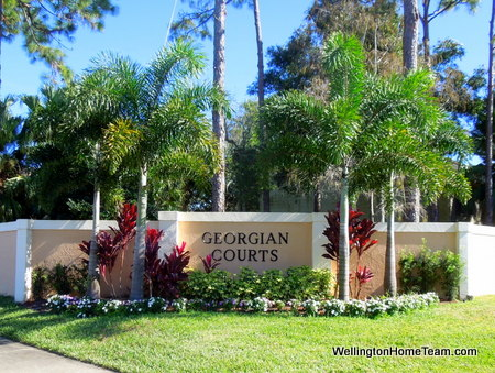 Georgian Courts Wellington Florida Real Estate