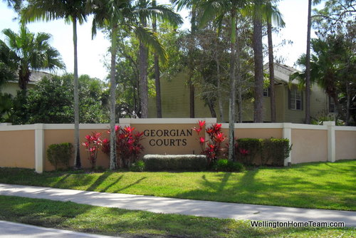 Georgian Courts Townhomes for Sale in Wellington Florida