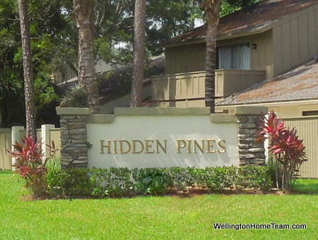 Hidden Pines Townhomes for Sale in Wellington Florida