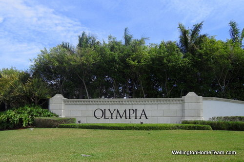 Olympia Homes for Sale Wellington Florida