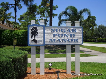 Sugar Pond Manor Homes for Sale in Wellington Florida