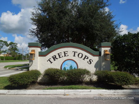 Tree Tops Homes for Sale in Wellington Florida