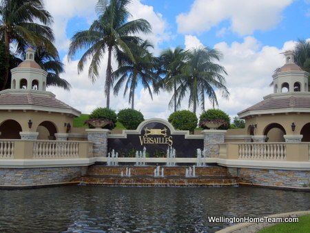 Versailles Luxury Estate Homes for Sale in Wellington Florida