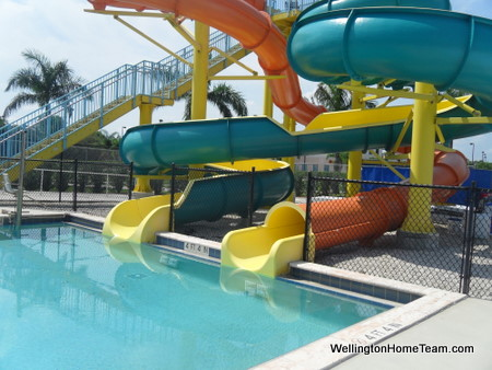 Wellington Aquatic Complex - Water Slides