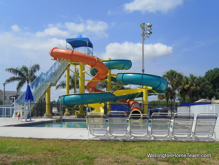 Wellington Aquatics Complex - Water Slide
