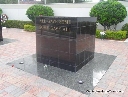 Wellington Veterans Memorial - Some Gave All