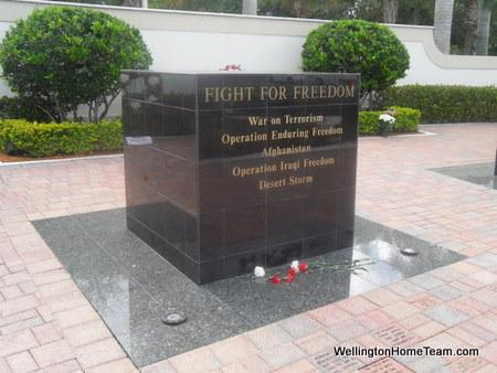 Wellington Veterans Memorial - Fight for Freedom