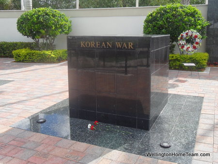 Wellington Veterans Memorial - Korean War