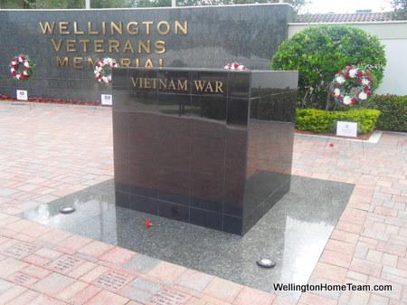 Wellington Veterans Memorial - Vietnam War