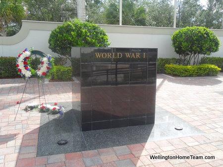 Wellington Veterans Memorial - World War I