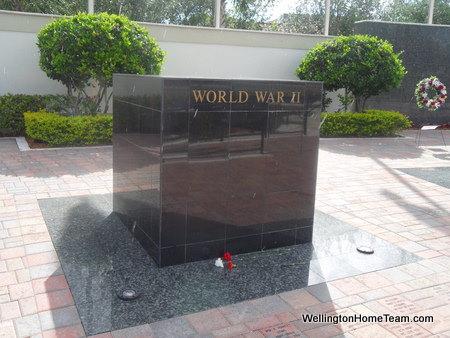 Wellington Veterans Memorial - World War II