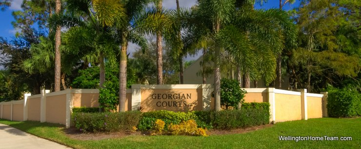 Georgian Courts Recent Townhome Sales in Wellington Florida