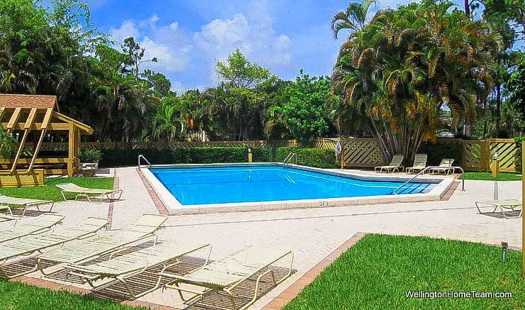 Sheffield Woods Wellington Florida Real Estate - Community Swimming Pool