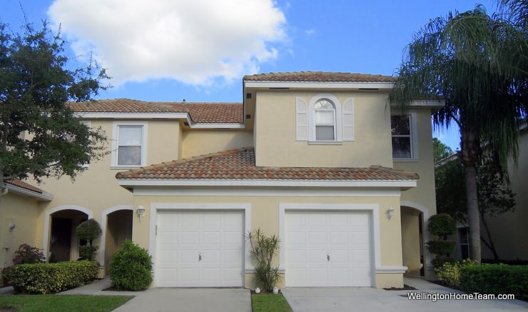 Towne Place Townhomes for Sale in Wellington Florida - Townhome