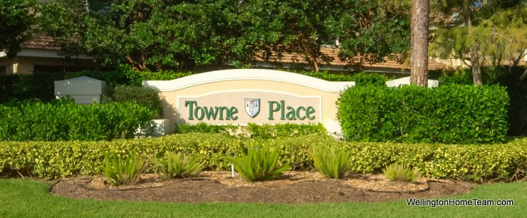 Towne Place Wellington Florida Real Estate Site Plan