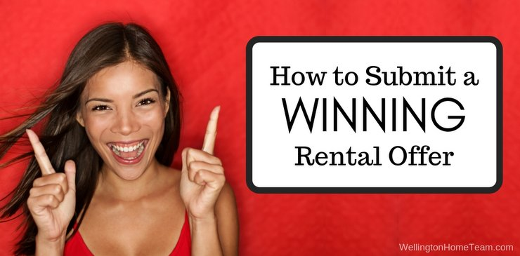 How to Submit a Winning Rental Offer on a Home in Wellington Florida