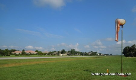 Aero Club Luxury Homes for Sale in Wellington Florida - Runway