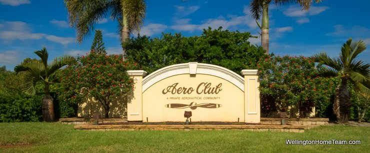 Aero Club Recent Home Sales in Wellington Florida
