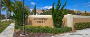 Amesbury Circle Greenview Shores Homes for Sale in Wellington Florida and Real Estate