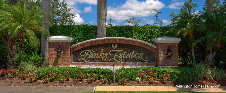 Binks Estates at Binks Forest Homes for Sale in Wellington Florida