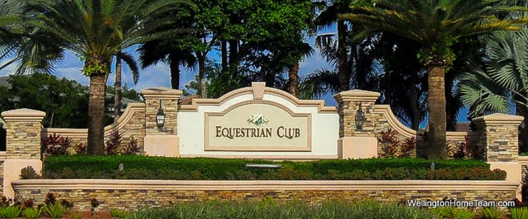 Equestrian Club Wellington Florida Real Estate Site Plan