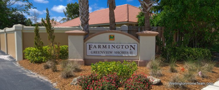 Farmington Greenview Shores Homes for Sale in Wellington Florida and Real Estate