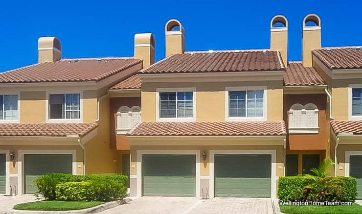 St Andrews at the Polo Club Townhomes for Sale in Wellington Florida