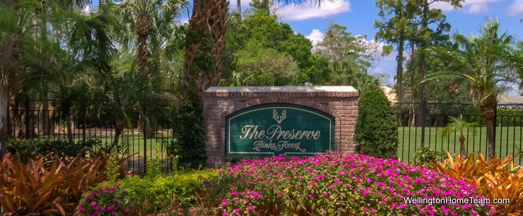The Preserve at Binks Forest Homes for Sale in Wellington Florida and Real Estate