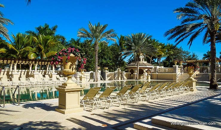 Versailles Luxury Estate Homes for Sale in Wellington Florida - Community Swimming Pool
