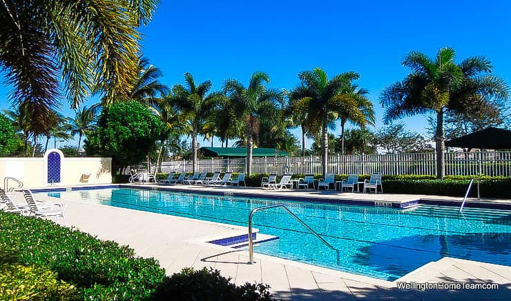 VillageWalk Homes for Sale in Wellington Florida - Community Swimming Pool