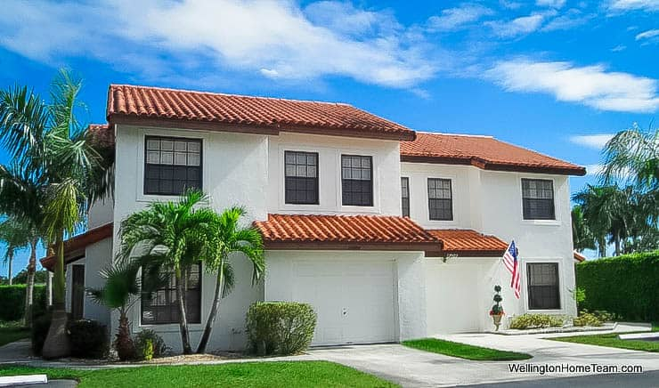 Wellington Place Townhomes for Sale in Wellington Florida -Townhomes