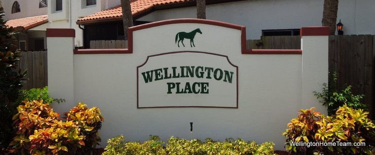 Wellington Place Recent Townhome Sales in Wellington Florida
