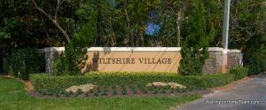 Wiltshire Village Greenview Shores Homes for Sale in Wellington Florida and Real Estate