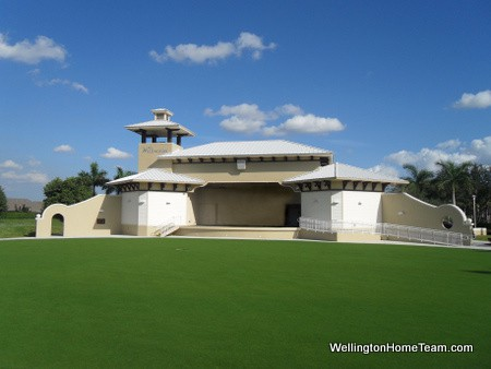 Wellington Amphitheater Stage | Wellington Florida