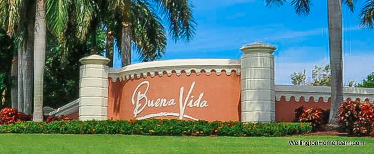 Buena Vida Wellington Florida Real Estate Site Plan