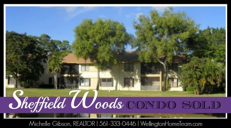 Sheffield Woods Condo SOLD - 12960 Dartford Trail #12 Wellington Florida 33414