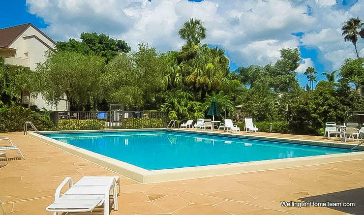 The Shores Condos for Sale in Wellington Florida - Community Swimming Pool