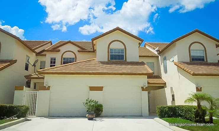 The Shores Condos for Sale in Wellington Florida - Two Story Condos