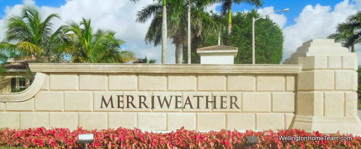 Merriweather Village at Olympia Homes for Sale in Wellington Florida