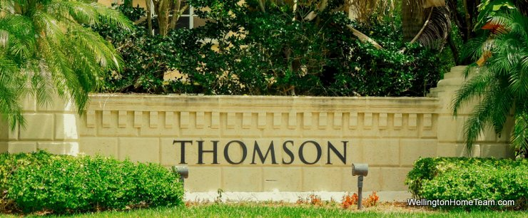 Thomson Village at Olympia Homes for Sale in Wellington Florida