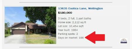 Wellington Florida Homes for Sale - Days on Market