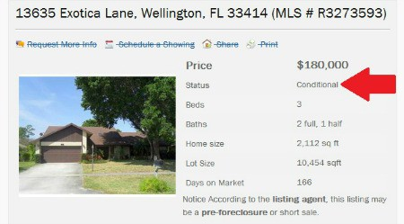 Wellington Florida Homes for Sale -Under Contract