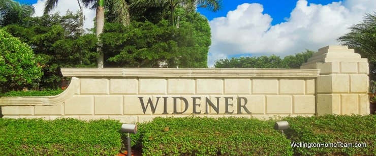 Widner Village at Olympia Homes for Sale in Wellington Florida