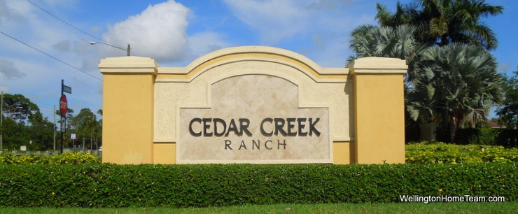 Cedar Creek Ranch Lake Worth Florida Real Estate and Homes for Sale