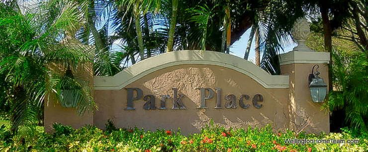 Park Place Wellington Florida Real Estate and Townhomes for Sale