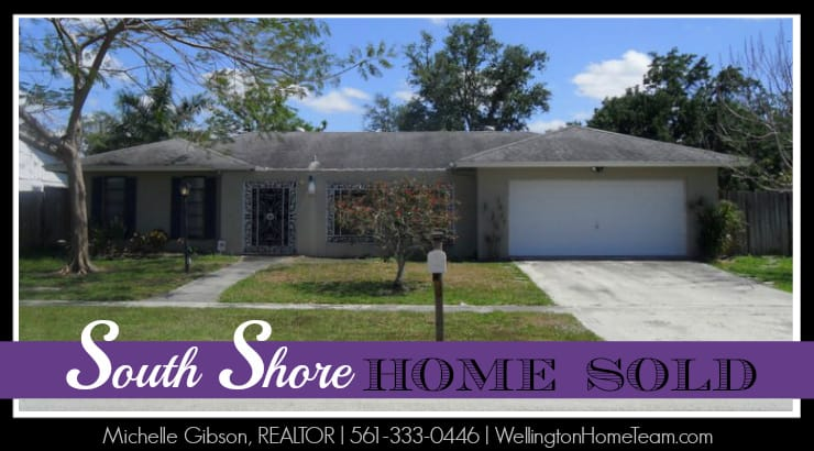 Wellington Short Sale SOLD! 1304 Stratford Street Wellington Florida 33414