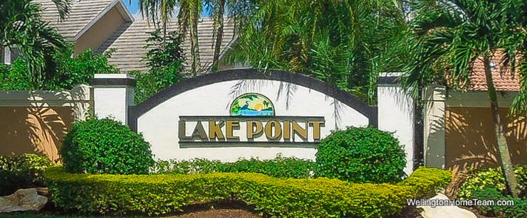 Lake Point Recent Home Sales in Wellington Florida