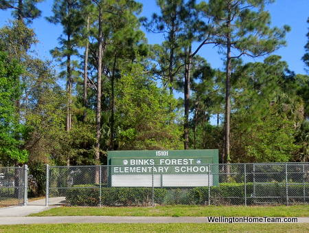 Binks Forest Elementary School Wellington Florida